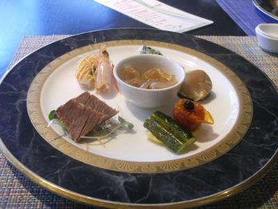 ホテルの中華ランチと広島城・縮景園散策