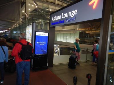 仁川空港アシアナのビジネスラウンジが新しくなっていた