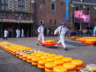 2019GW ベルギー・オランダ一人旅⑯【アルクマールでチーズ市を見てみたい♪】編