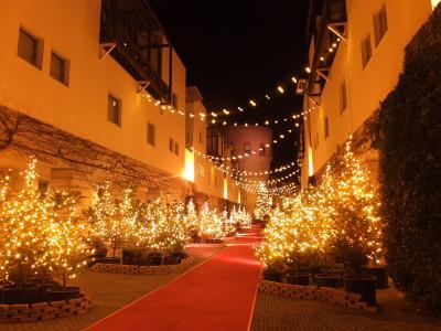 街はクリスマス一色~リゾナーレ八ヶ岳~
