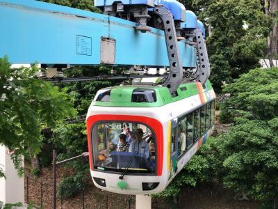 2019年6月関東鉄道旅行3(35年ぶりの上野動物園モノレール)