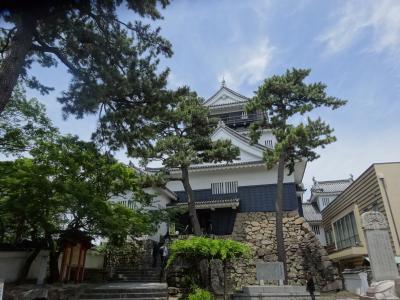 日本100名城を行く(岡崎城)