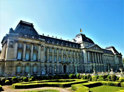 ブリュッセル王宮の周りを散策、もちろん美術館にも♪