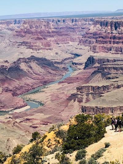 グランドサークルレンタカー旅 №4グランドキャニオン前半Desert ViewとNavajo point