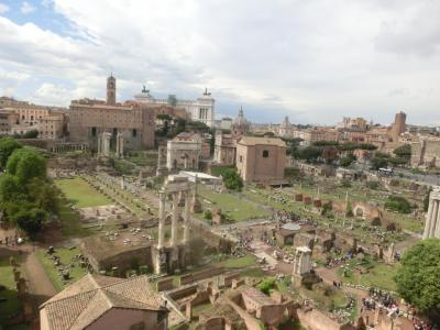 2019GW イタリア08:世界遺産ローマ フォロロマーノとパラティーノの丘