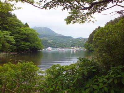 芦ノ湖・恩賜公園周辺散歩