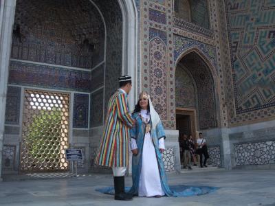 無精者、旅に出る in ウズベキスタン・サマルカンドvol2