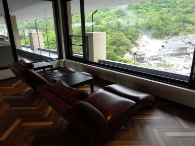 諫早湾干拓堤防道路をとおって雲仙へ(Mt.Resort雲仙九州ホテル泊)