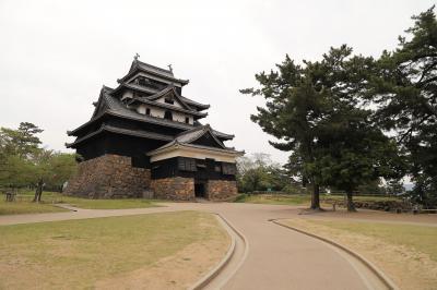 中国地方100名城訪問 2.月山富田城、松江城