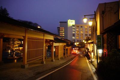 草津温泉で湯畑 駒ヶ根高原リゾートリンクスでムササビに逢う