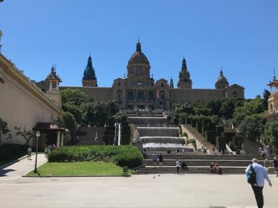 バルセロナ(2)カタルーニャ美術館など