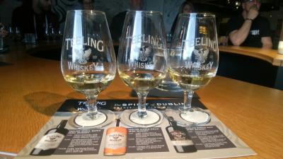 アイリッシュバーでアイラモルトを飲みたい!(トムさんのウォーキングツアーとTeeling Distillery(ダブリン2日目))