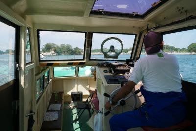 宮城の離島めぐり、市営渡船で島伝いに渡る浦戸諸島アイランドホッピング&仙台で一杯ナイトツアー