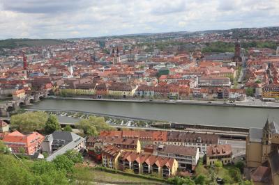 ドイツ旅行記2019 Part8: (4/26) ヴュルツブルク:マリエンベルク要塞