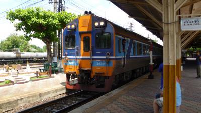 タイ国鉄「8列車」の旅 チェンマイからピサヌロークまで