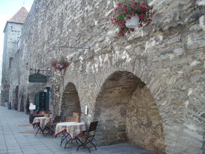 中世の空気を今に伝えるエストニアの首都タリン