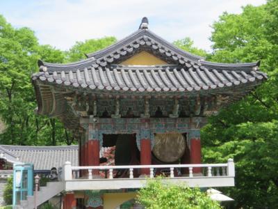 韓国 「行った所・見た所」 忠清南道公州の鶏龍山東鶴寺を参拝・散策しました