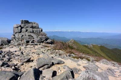 金峰山、特急あずさに乗ってみた。