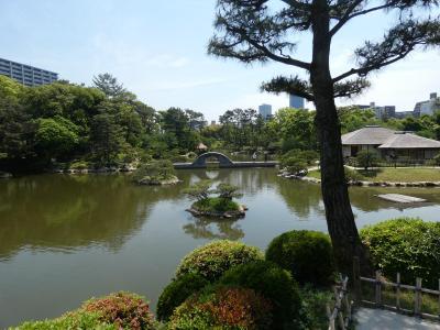 広島 縮景園(Shukkeien, Hiroshima, Japan)