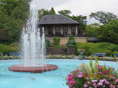 令和元年も箱根温泉旅行をしました⑨箱根強羅公園・・・2)噴水池~西門迄