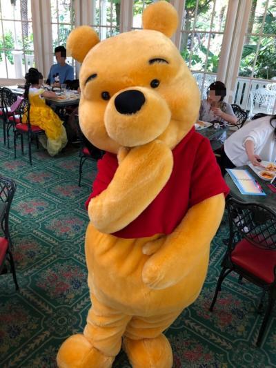東京ディズニーランド クリスタルパレスレストラン キャラクターブレックファスト