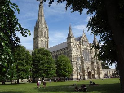 ソールズベリー大聖堂~イギリス一天国に近い場所