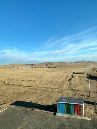乗り継ぎモンゴル滞在