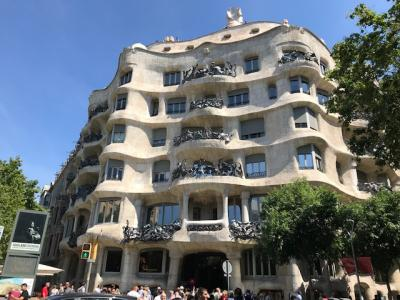 バルセロナ(3)カタルーニャ音楽堂やピカソ美術館など