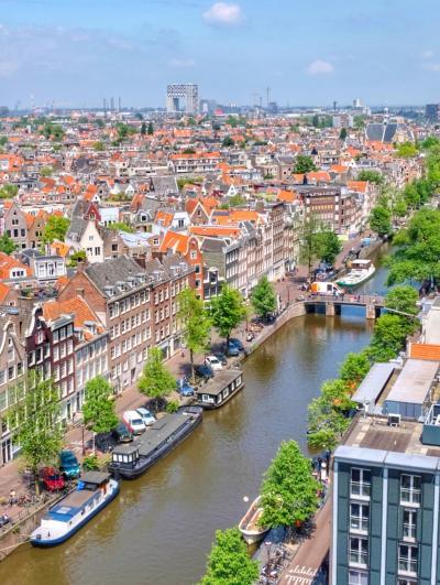 水辺の美しい景色を求めてオランダ&ベルギーへ <2> アムステルダムの街歩き(後編)♪