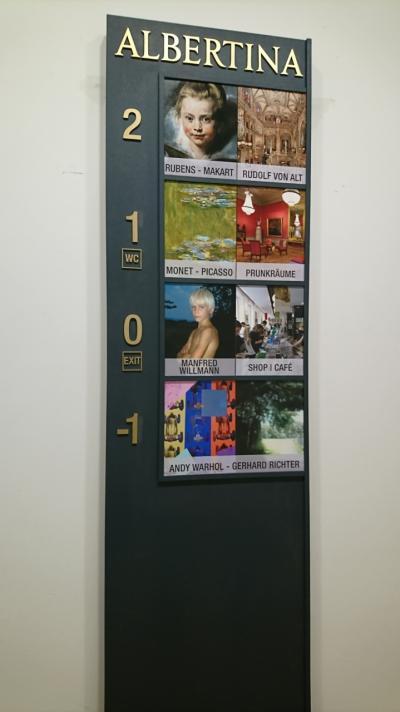 2019年3月インスブルック、ウィーンの旅(17)  ウィーン アルベルティーナ美術館