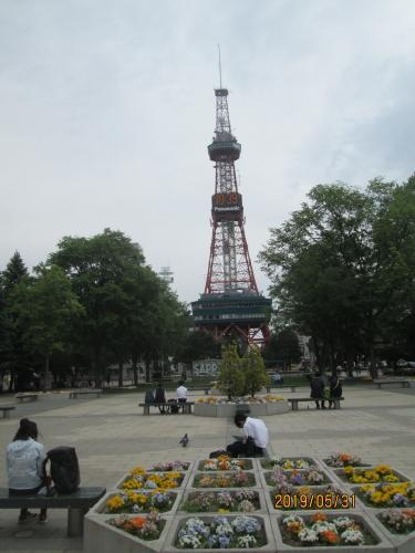 札幌の大通公園・西1丁目・テレビ搭