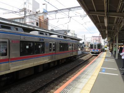 (追加版)柴又駅から成田駅乗り換えで成田上空