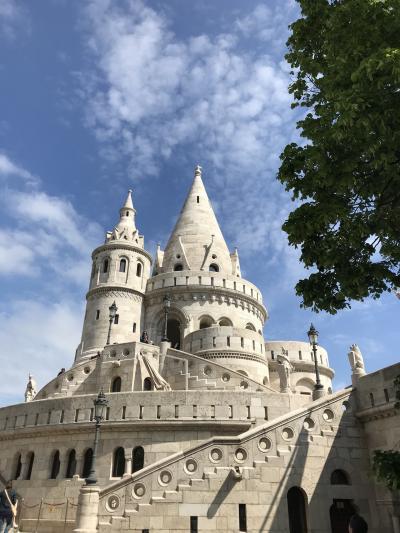 『ドナウの真珠』ブダペストへ③・・・ブダ王宮の丘からドナウを眺める