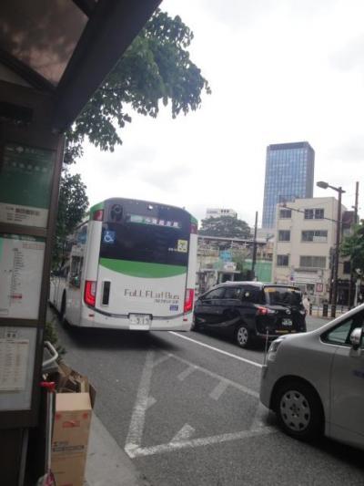 24年ぶりの飯田橋セントラルプラザ訪問 -1 都バス新車乗車