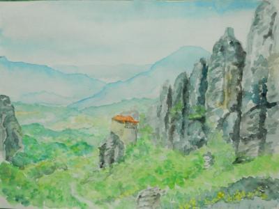 天空の修道院 メテオラ(1)