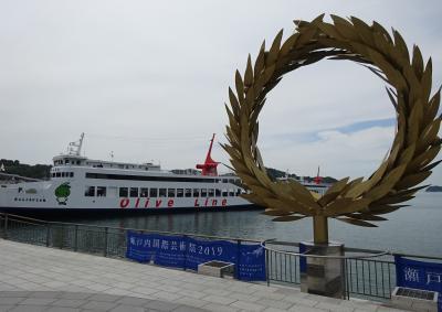 2019/6 香川県スローな島旅*小豆島〈1〉高松からの船旅&引き潮のエンジェルロードを渡る