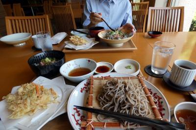 10.GWのエクシブ伊豆2泊 ラウンジシーガルの喫茶 日本料理 黒潮の昼食