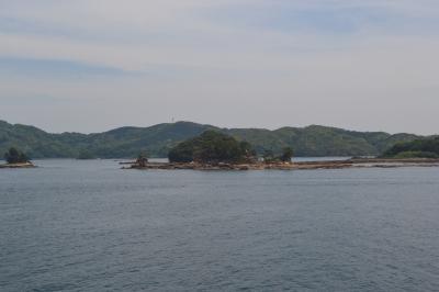 コスタ・ネオロマンティカで行く太平洋クルージング(5日目)佐世保港と九十九島観光