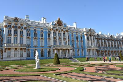 サンクトペテルブルク、ヘルシンキ、タリン、上海観光