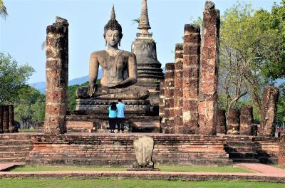 スコータイに行ってみた('18) 微笑みの国タイの源流 幸福を謳歌した兵たちの夢の跡を往く オッサンネコの一人旅