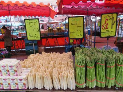 心の安らぎ旅行(2019年 5月 Mainz マインツPart4 Wochenmarkt 滞在中2度目の朝市♪)