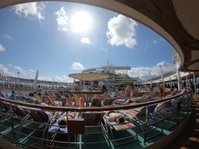 世界最大級客船でカリブ海クルーズ6/11DAYS
