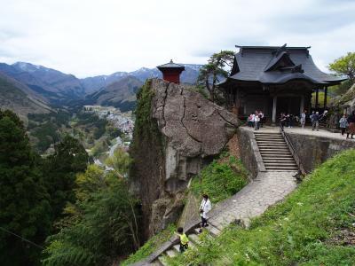 GW東北ツー⑤ 羽黒山+山寺 264km