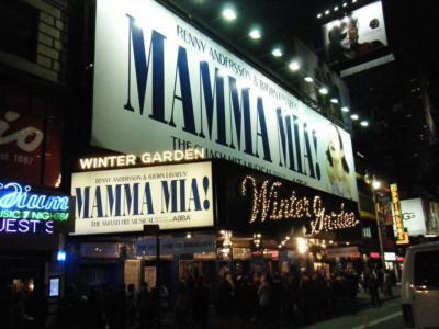 2011年12月 クリスマスのニューヨーク & ミュージカル &   ロックフェラーセンターでのスケート(2回目)