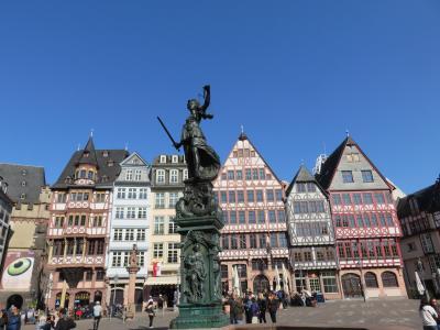ヨーロッパの街並み散策(ケルンからフランクフルトへ)・・・