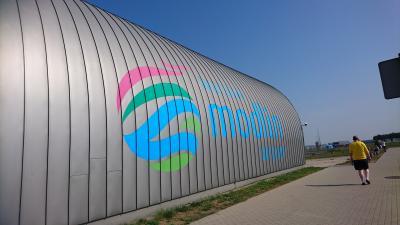 ライアンエアーが利用するモドリン空港を利用してストックホルムへ!