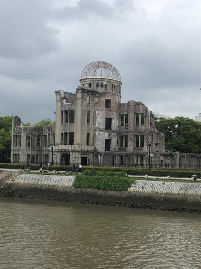原爆ドームと百名城(24/100)の広島城