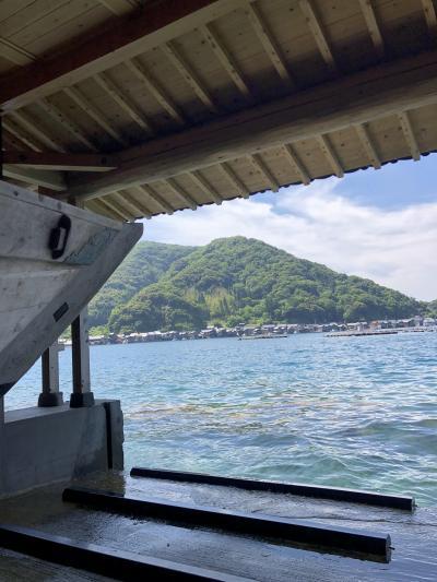 伊根の舟屋・天橋立・舞鶴赤レンガパークは景色とお食事で癒されます。