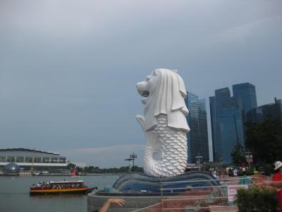 シンガポール4日間(2)マーライオン~チャイナタウン