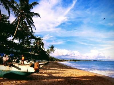 2018年 10月 スリランカ・タンガッラ ベストシーズンの静かなビーチリゾートへ。